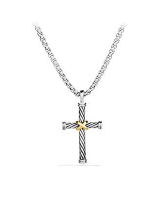 Cable Classics Cross Necklace