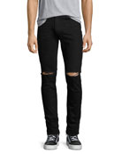 Ovadia & Sons OS-1Slim-Fit Distressed Denim