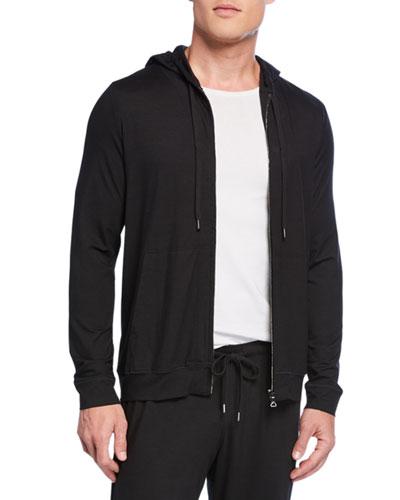 Men's Basel 1 Jersey Zip-Front Hoodie