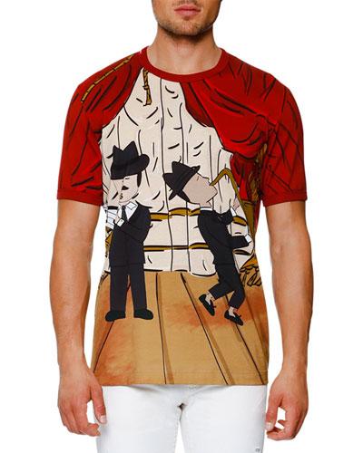 Jazz-Print T-Shirt