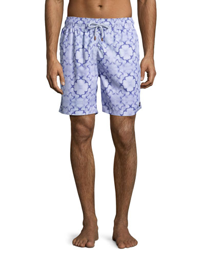 Guillauche Fungi Swim Trunks, Purple