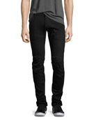 5620 3D Tapered Jeans, Black