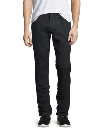 Blake Slim-Straight Jeans, Vigor Black