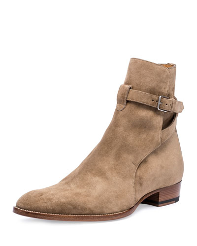 Wyatt 40mm Suede Jodhpur Boot