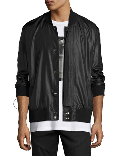 Melvia Bomber Jacket, Black