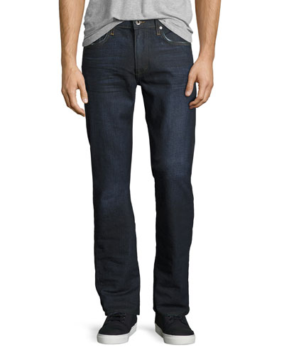 Brixton Slim-Straight Denim Jeans, Oil Slick Indigo