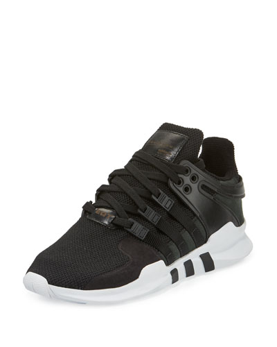 Men's EQT Support ADV Sneaker, Black/White