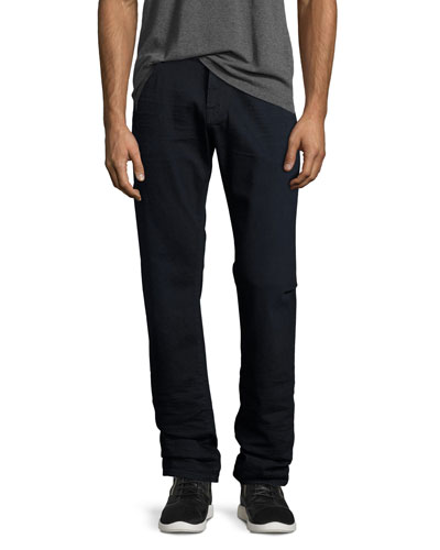 Straight-Leg FoolProof Denim Jeans, Undertone