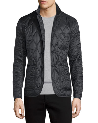 Gillington Quilted Jacket, Black