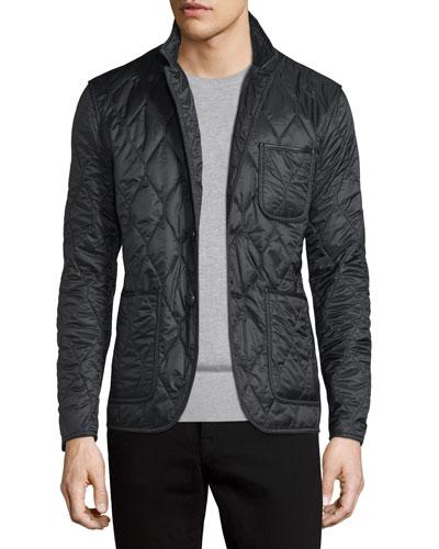 Gillington Quilted Jacket, Black