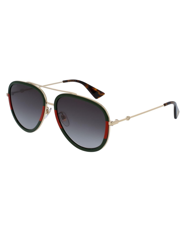 Web Aviator Sunglasses
