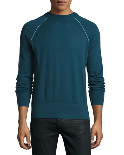 Tremell Castellos Merino Sweater, Blue