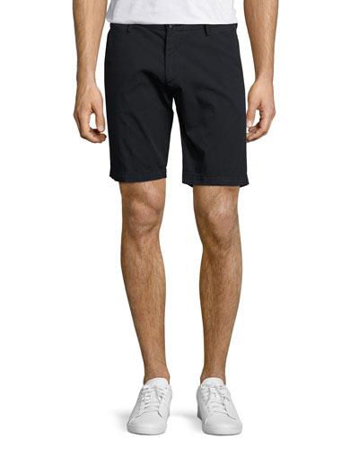 Straight-Leg Chino Shorts, Blue