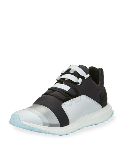 Kozoko Colorblock Low-Top Sneaker, Black/Silver