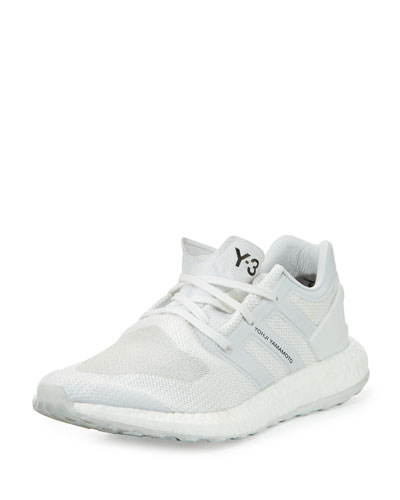 Men's Pure Boost Mesh Sneaker, White