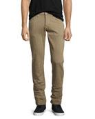 Men's Blake Bishop Slim-Straight Jeans, Medium Gray
