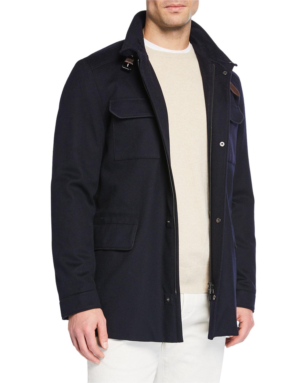New Traveler Cashmere Stretch Storm System® Jacket