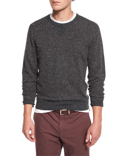 Donegal Crewneck Sweatshirt, Charcoal