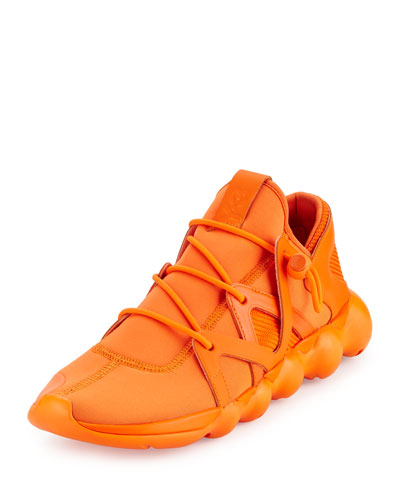 Kyujo Men's Leather Low-Top Sneaker
