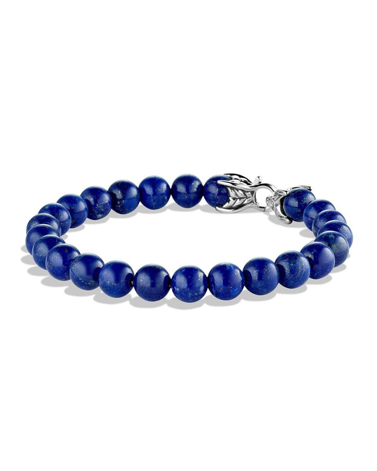 David Yurman Spiritual Beads Bracelet With Lapis Lazuli, 8mm In Bla