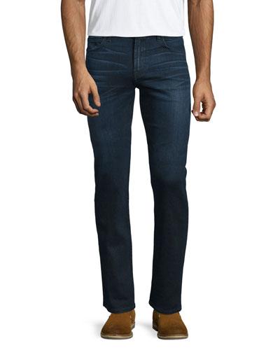 Luxe Performance: Straight-Leg Denim Jeans, Vigilante
