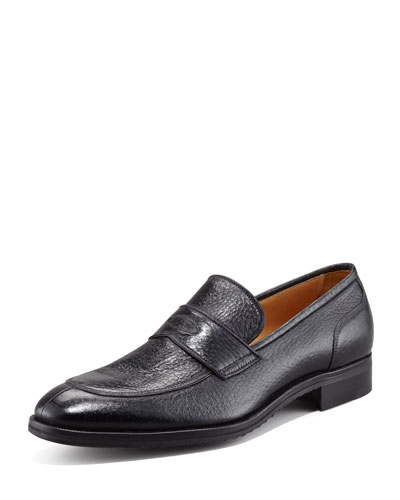 Peccary Loafer, Nero