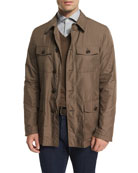 Button-Down Safari Jacket