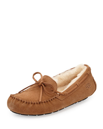 Men's Olsen Chestnut Suede Slipper
