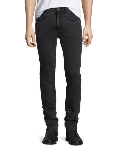 Strummer 01 Classic Skinny Jeans, Dark Gray