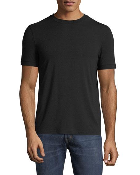 Giorgio Armani Men's Basic Crewneck T-Shirt