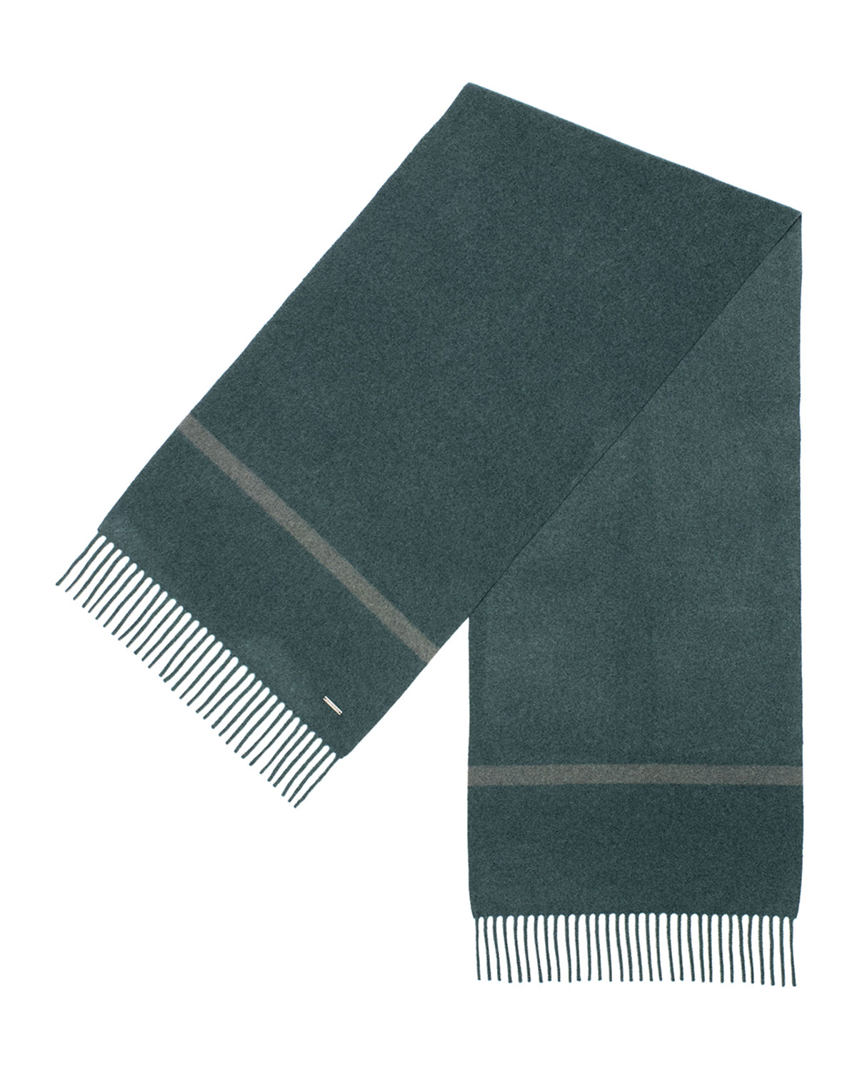 Loro Piana Men's Striped Cashmere Scarf In Navy