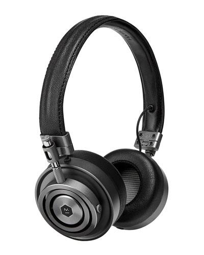 Master & Dynamic Mh 30 On - ear Headphones, Black / gunmetal
