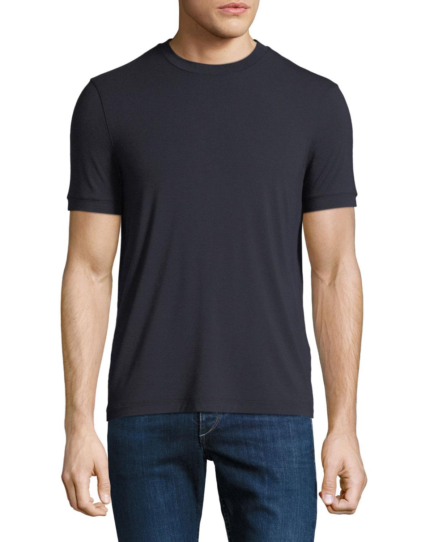 Men's Solid Jersey Crewneck T-Shirt