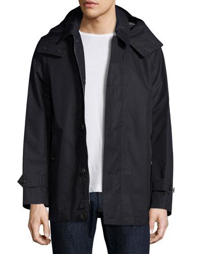 Darnsbury Hooded Field Jacket, Navy