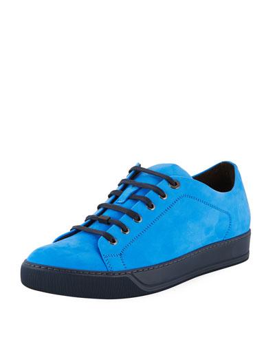 Suede Low-Top Sneaker