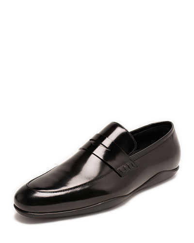 Downing Italian Leather Penny Loafer