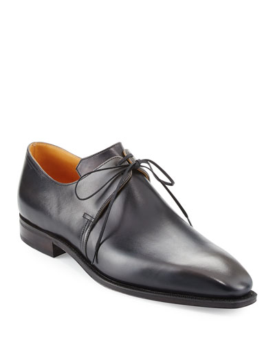 Arca Patina Derby Shoe, Gunmetal