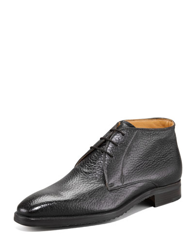 Peccary Chukka Boot, Black