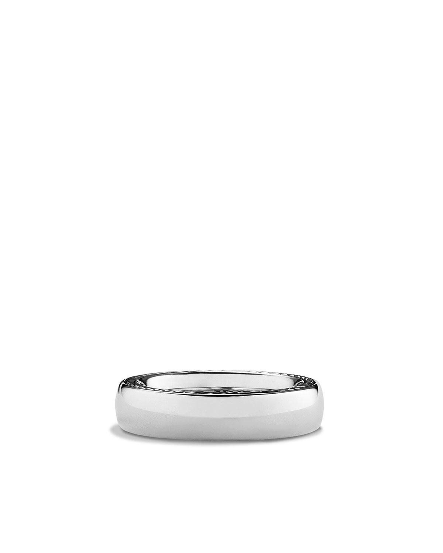 Men's Streamline Narrow Band Ring