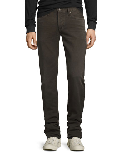 Five-Pocket Corduroy Pants, Brown