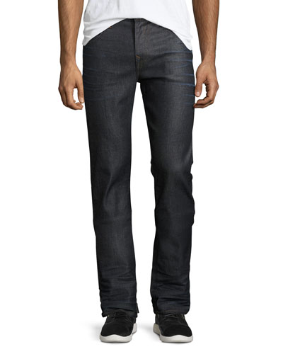 Ricky Badlands Denim Jeans, Dark Blue