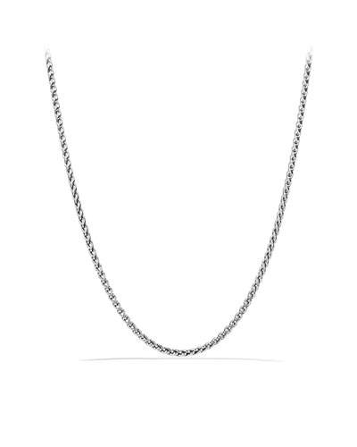 Small Wheat Chain Necklace