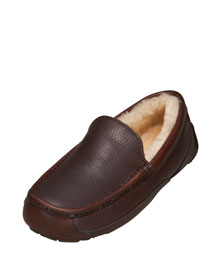 UGG Australia            Ascot Slipper  -   		For Him - 	Neiman Marcus :  mens slippers neiman marcus ugg slippers cozy slippers