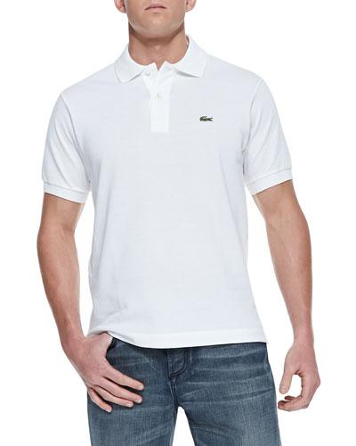 Classic Pique Polo, White