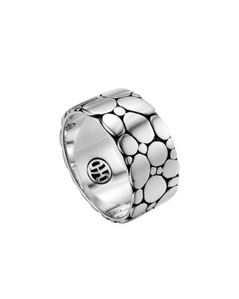 Kali Silver Band Ring