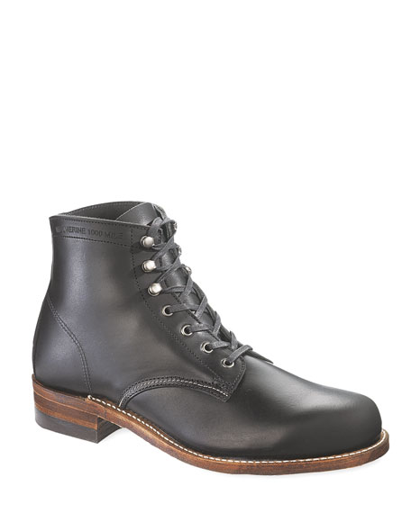 Wolverine 1000 Mile Boots, Black
