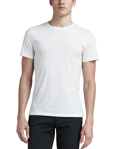Crewneck T-Shirt, White