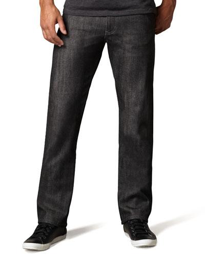 SlimGuy Black Selvedge Jeans