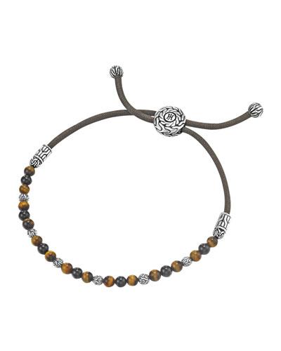 Tiger's Eye Bead Bracelet