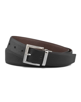 Saffiano Reversible Belt